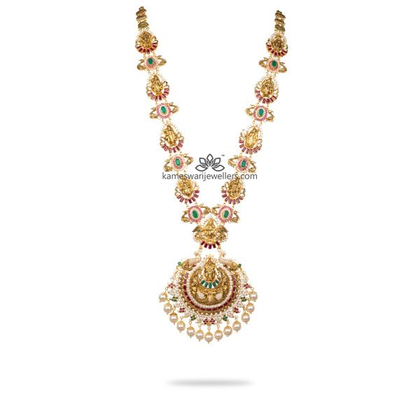 Temple Pearl Long Necklace